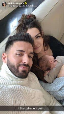 Nabilla nostalgique des premiers jours de son fils Milann 23062020-