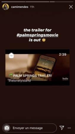 Palm Springs (Camila Mendes): le trailer survolté enfin révélé !
