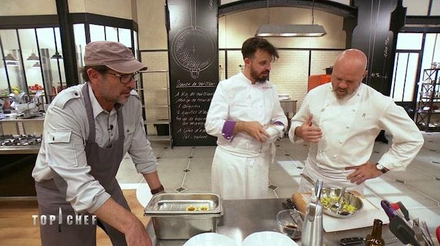 Philippe Etchebest- deux candidats de Top Chef goûtent sa cuisine 640
