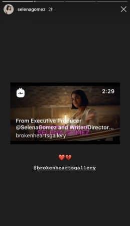 Selena Gomez dévoile le trailer de sa comédie The Broken Hearts Gallery 640