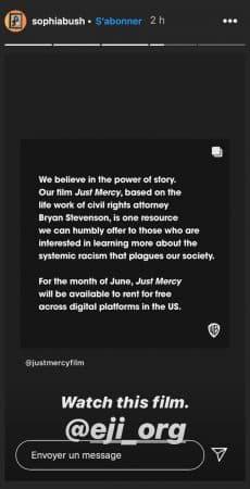 Sophia Bush veut que ses abonnés regardent La Voie de la justice 640