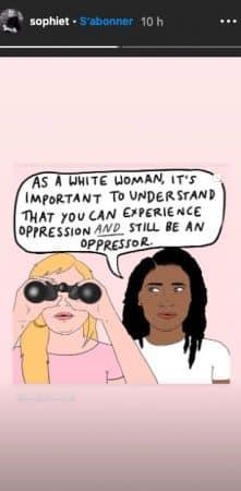Sophie Turner éduque ses fans sur le racisme avec une BD !