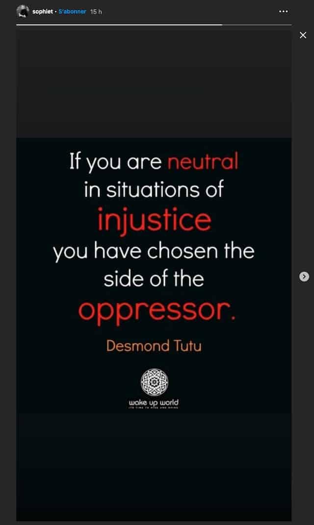Sophie Turner: sa phrase choc pour lutter contre le racisme !