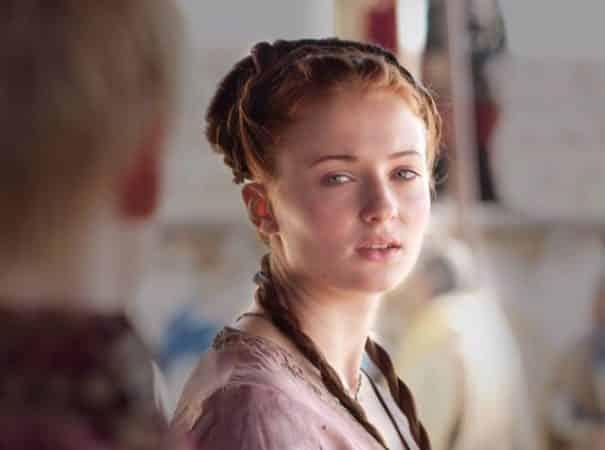 Sophie Turner terrifiée pendant ses débuts dans Game of Thrones 640