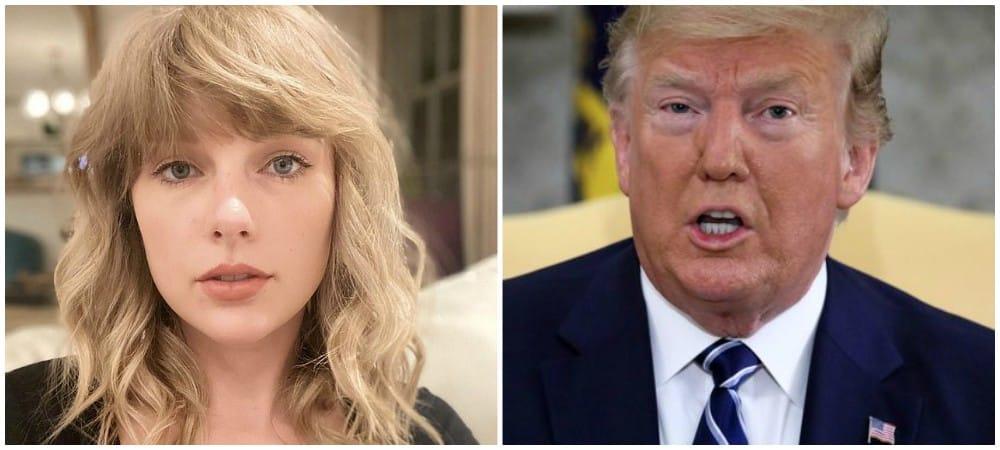 Taylor Swift encourage ses fans à ne pas voter pour Donald Trump !