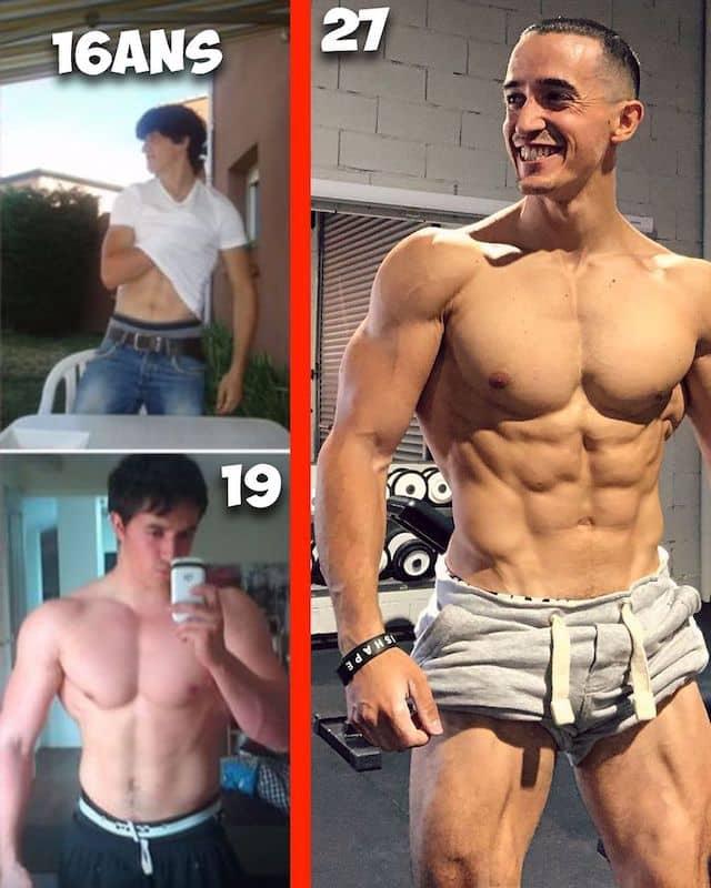 Tibo InShape dévoile son incroyable transformation physique sur Instagram !