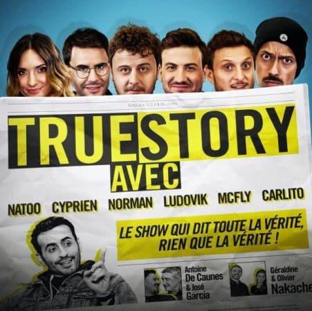 """Zahia Dehar invitée dans """"True Story"""" avec Cyprien et Natoo !"""