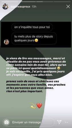Agathe Auproux s'explique sur son absence sur les réseaux sociaux !