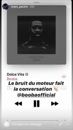 """Booba: son protégé Maes valide sont nouveau son """"Dolce Vita"""" !"""