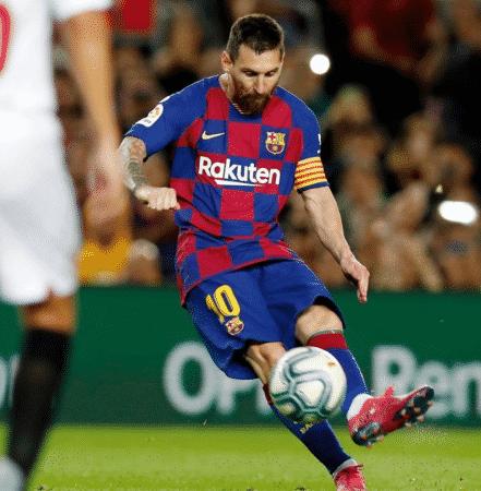 Lionel Messi sur Instagram