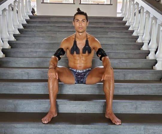 Cristiano Ronaldo dévoile ses abdos saillants sur Instagram !