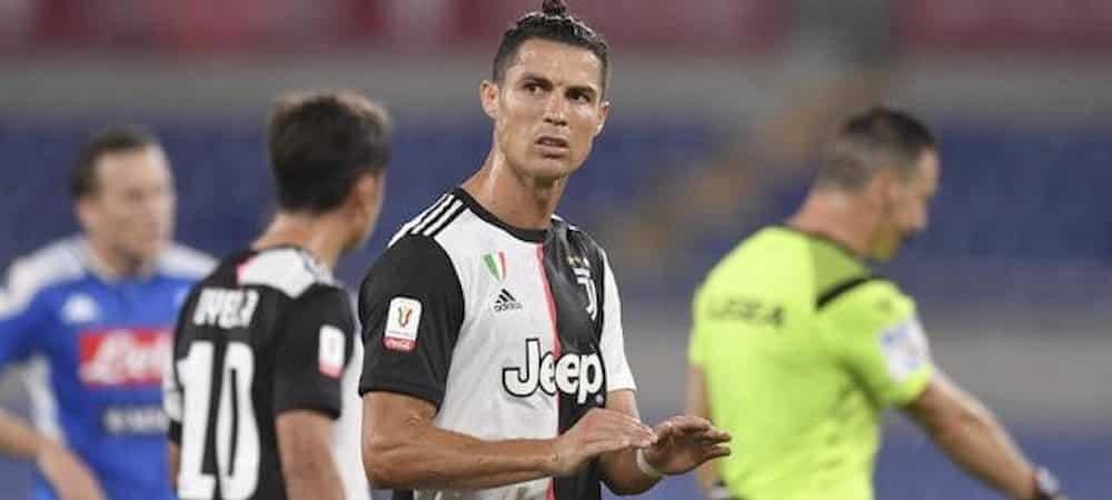 """Cristiano Ronaldo: Sarri tacle le joueur """"Il a forcé quelques tirs"""" !"""