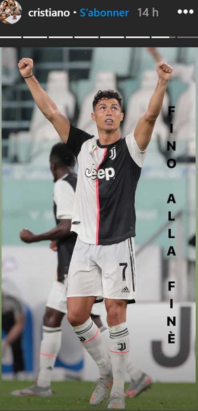 Cristiano Ronaldo très fier de ses deux nouveaux records !