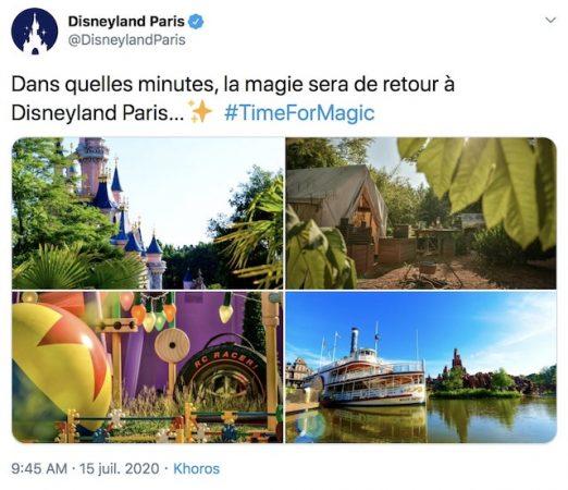 Disneyland Paris rouvre ses portes avec des mesures drastiques !