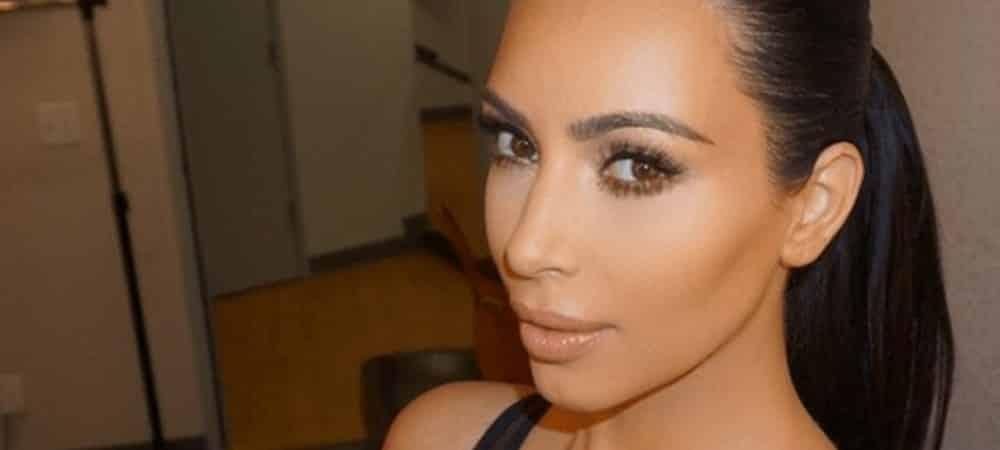 Kim Kardashian s'affiche dans son pyjama préféré sur Instagram !