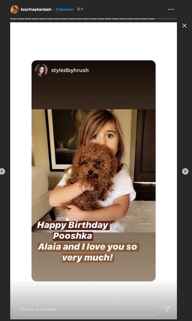 Kourtney Kardashian dévoile les coulisses de l'anniversaire de Pénélope !
