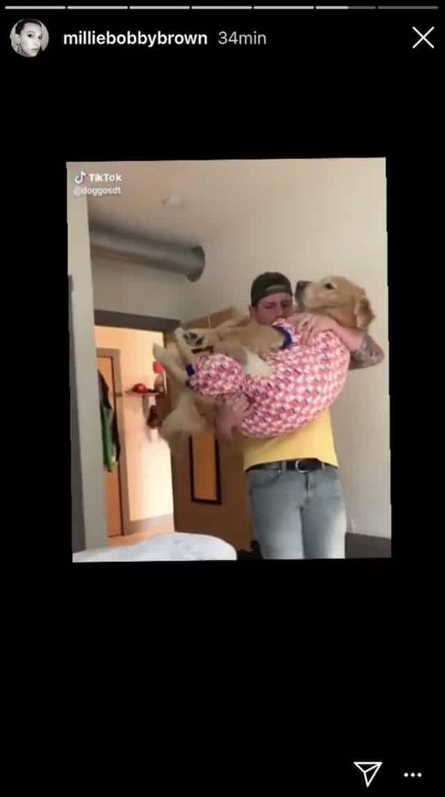 Millie Bobby Brown: cette vidéo TikTok qui la fait totalement craquer !