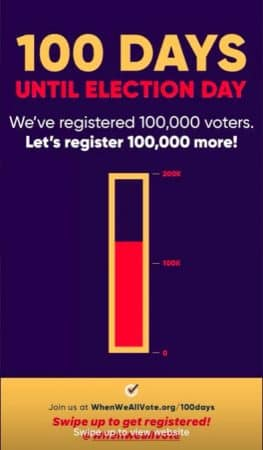 Selena Gomez demande à ses abonnés de voter aux prochaines élections !