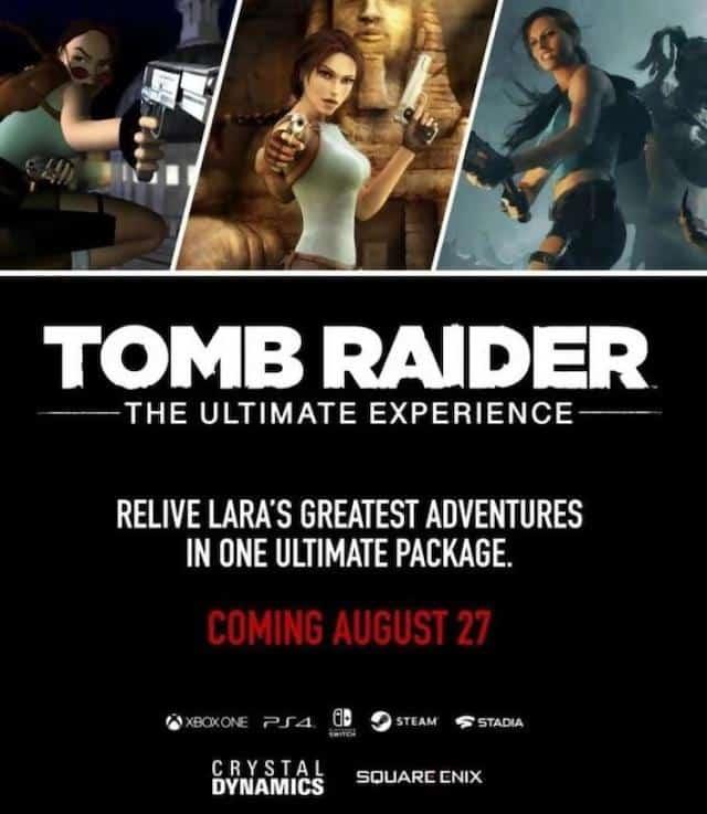 Tomb Raider: une grosse compilation en approche pour les fans du jeu ?