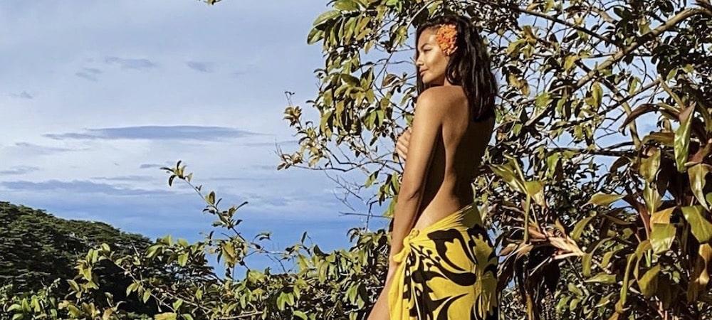 Vaimalama Chaves (Miss France) sexy en bikini dans une destination de rêve !
