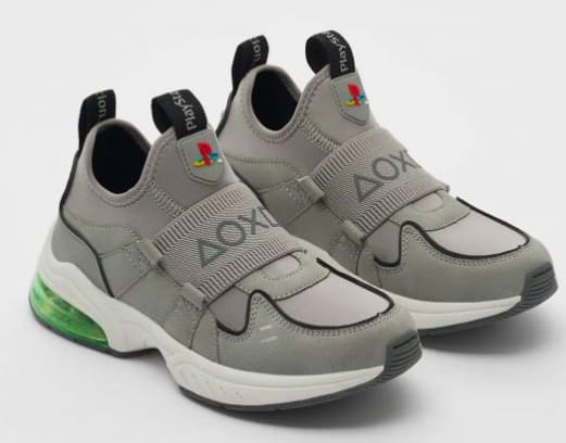 Zara sort des sneakers insolites qui s'inspirent de la PlayStation 1 !