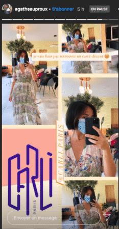 Agathe Auproux dévoile sa nouvelle coupe de cheveux sur Instagram 24082020-