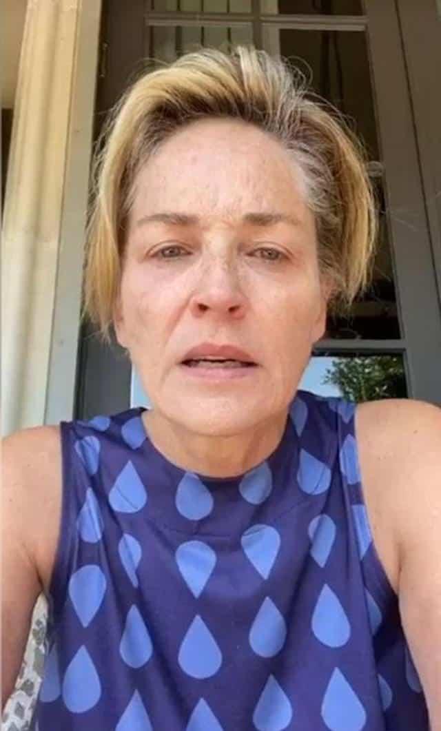 Alyssa Milano soutient Sharon Stone face au coronavirus !