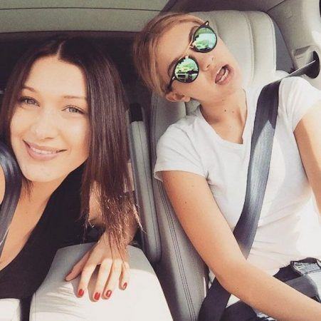 Bella Hadid- sa soeur Gigi Hadid embrasse son baby daddy Zayn Malik 640