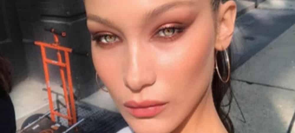 Bella Hadid: son make up très artistique fait sensation sur Instagram !
