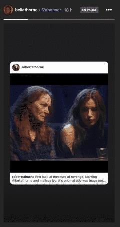 Bella Thorne dévoile un projet très mystérieux sur Instagram !