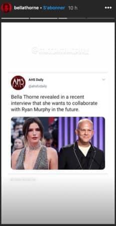 Bella Thorne rêve de collaborer avec le réalisateur Ryan Murphy 640