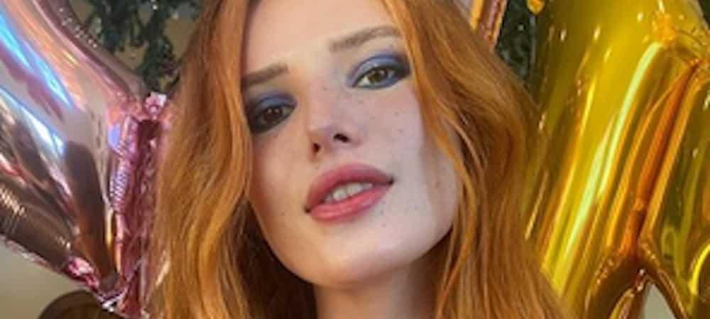 Bella Thorne: son look orange et excentrique fait sensation sur Instagram !