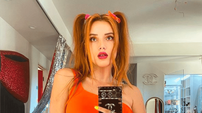 Bella Thorne torride en bikini blanc échancré sur Instagram 23082020-