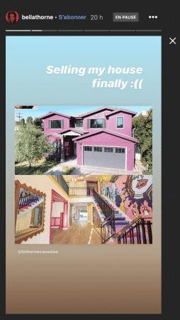 Bella Thorne vend sa maison excentrique à plus de 2 millions de dollars !