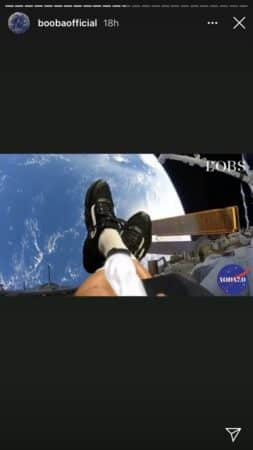 Booba rêve de fumer un joint sur la Lune !