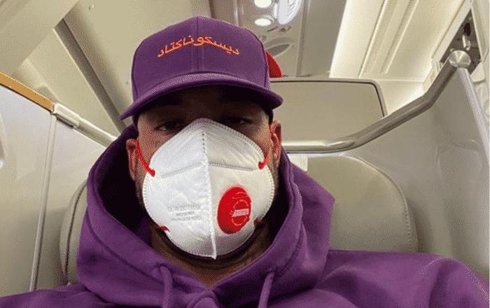 Booba s'affiche masqué en plein entraînement La victoire ne s'invente pas 22082020-