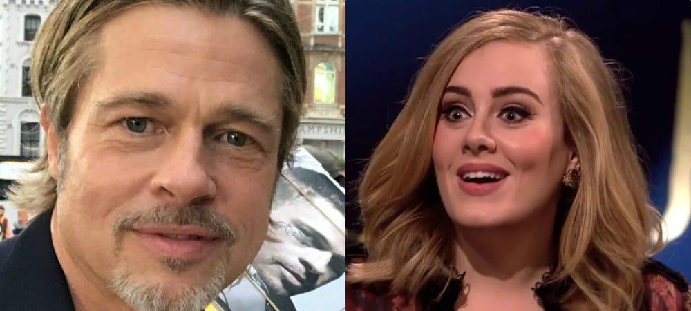 Brad Pitt craquerait totalement pour la chanteuse Adèle !