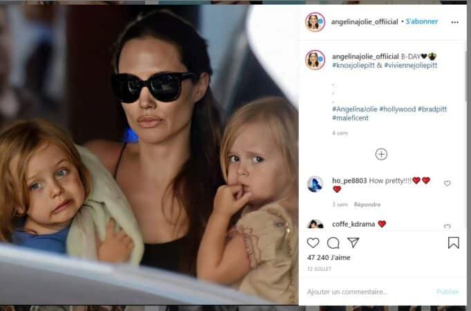 Brad Pitt et Angelina Jolie leurs enfants pris en otage par le divorce