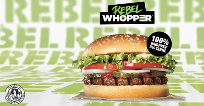 Burger King lance un burger (presque) végan !