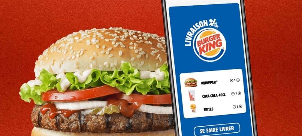 Burger King trouve une solution pour les clients qui refusent de porter le masque !