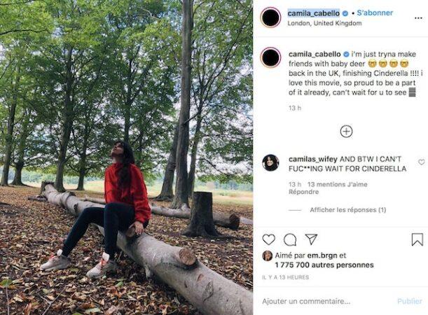 Camila Cabello: tout savoir sur son prochain film Cendrillon !