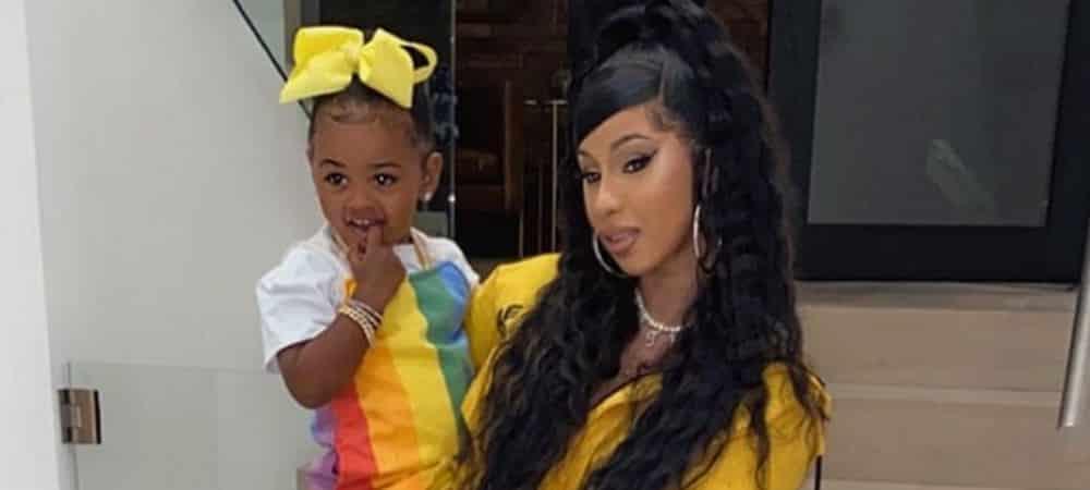 Cardi B complètement gaga de sa fille Kulture sur Instagram !