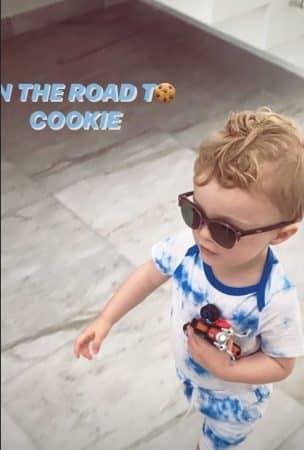 Caroline Receveur: Marlon adorable avec ses lunettes de soleil sur Instagram ! 640