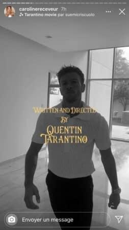Caroline Receveur: son chéri se croit dans un Quentin Tarantino !