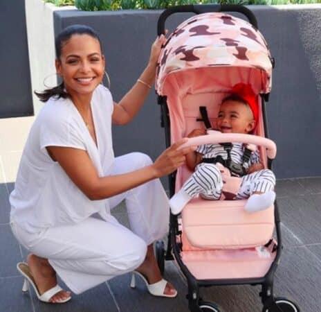 Christina Milian prête à révélée une photo de son petit Isaiah ?