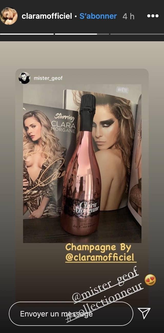 Clara Morgane a sorti un champagne et ses fans se l'arrachent !