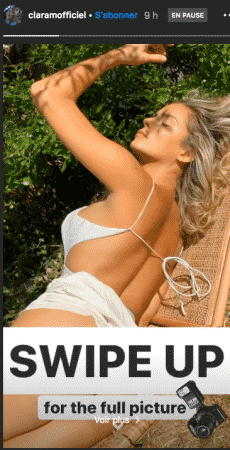 Clara Morgane s'affiche sexy en dos nu blanc sur Instagram 02082020-