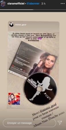 """Clara Morgane: ses fans n'ont pas oublié son album """"Nuits Blanches"""" !"""
