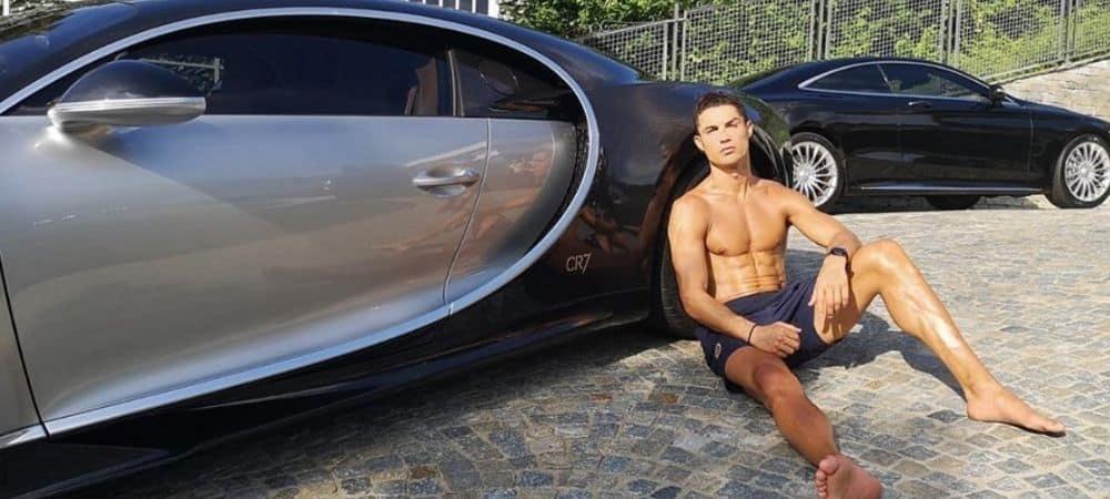 Cristiano Ronaldo s'offre une voiture de luxe à 8 millions d'euros !
