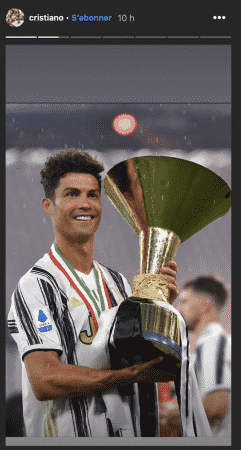 Cristiano Ronaldo très fier de son nouveau record au football !